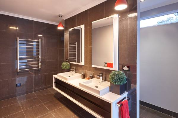 large renovated bathroom